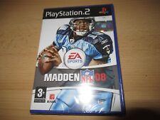 IMPAZZIRE NFL 08 Playstation 2 PS2 American Calcio Videogioco -