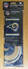 "2 Nfl Los Angeles Rams 100% Polyester WinCraft Small Garden Flag 11"" x 15"""