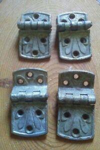 4 Antique Hinges.