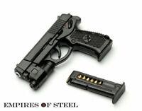 "Plastic QSZ92 Semi-automatic Pistol 1/6 Weapon Model Rifle Gun Toy F 12"" Figure"