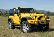 Off Road Snorkel Air Ram Intake System Installation For Jeep Wrangler TJ YJ 4x4