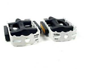 Wellgo M141 White Bicycle Pedals