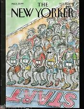 """The New Yorker Magazine October 22, 2012 """"On Your Mark!"""" by Edward Koren Exc."""