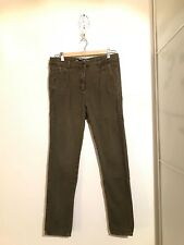 Skinny Jeans - Zara Woman - pure Denim Wear Collection - Baumwolle - kaki - 36
