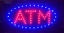 Atm Led Neon Light Open Sign with Motion Lights
