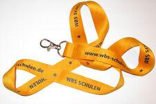 WBS Schulen Schlüsselband Lanyard NEU (T206)