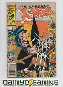 Uncanny X-Men #211 WOLVERINE COVER 1st App Marauders Newsstand Marvel 1986 FN+