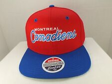 Montreal Canadiens Retro Vintage NHL Snapback CAP Hat NEW By Zephyr