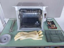 Ronco 5000 Platinum Showtime Rotisserie & BBQ with Accessories & Manuals