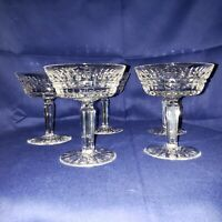 Waterford DISCONTINUED 4 Vintage GLENMORE CUT Champagne Coupe 1982 4 MC