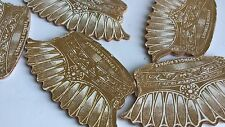 ANTIQUE SET OF 5 SEWING PIN FANS 1900 or earlier NOS! VINTAGE, LIMITED SUPPLY