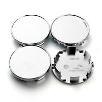 4x 85mm/78mm Wheel Center Hub Caps Chrome Silver for TitanArmad 40342-7S500