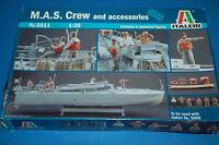 Italeri 5611 - M.A.S. Crew and Accessories   scala 1/35