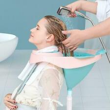 Portable Shampoo Basin Washing Tray Hair Shampoo Bowl Nursing Portable T1Y5