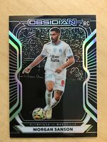 MORGAN SANSON 2020 21 PANINI OBSIDIAN ROOKIE RC SSP /195 OLYMPIQUE MARSEILLE