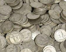 Survival Money 1948-1963 D Franklin Half Dollar 90% Silver Circ 50 Cent Coin