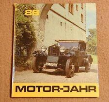 DDR Motorjahr Buch 1986 Skoda BMW Dixi EMW Auto Union Skoda ETZ