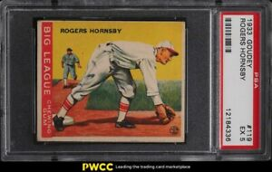 1933 Goudey Rogers Hornsby #119 PSA 5 EX