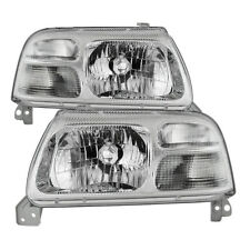 Suzuki 99-03 Grand Vitara 99-04 Vitara XL-7 Replacement Headlights Pair Set