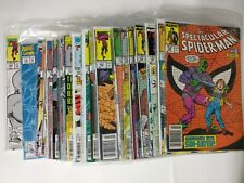 Spiderman Comic Lot The Spectacular Spiderman lot of 71 136-263 + more VF BB