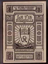 ANONYME, LA VIE ETERNELLE  TOME 3 : LE TABERNACLE AU MILIEU DES HOMMES