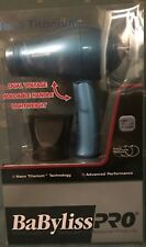 Babyliss Pro Nano Titanium Dual Voltage Travel Size Hair Dryer