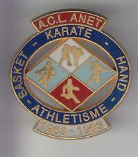 RARE PINS PIN'S .. SPORT BASKET BALL KARATE HAND ATHLETISME CLUB BIG ANET 28 ~C4