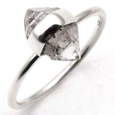 Amazing Original HERKIMER DIAMOND QUARTZ Gemstone Ring Size US 6.5 C-6355