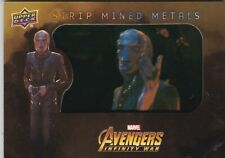 Marvel Avengers Infinity War SMM10 Strip Mined Metals Card by Upper Deck