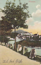 AK Füssen, Allgäu, 1912 gelaufen