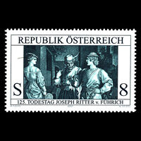Austria 2001 - The painter and draughtsman Art - Sc 1855 MNH