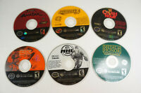 6 Nintendo Gamecube Game Disc Only Lot Tony Hawk 3 Ghost Recon 2 Medal of Honor