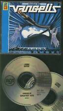 VANGELIS Greatest Hits 1991 DOUBLE CD FAT BOX RCA RECORDS RARE