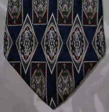 Requirements Tie Silk Blue Maroon White Gray NIB t852