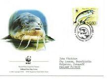 BULGARIA  2004 WWF  FDC  Endangered Species.  Sturgeon   SG4517