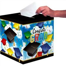 Graduation Celebration Card Collection Box Graduation Party Supplies