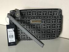 NEW! TOMMY HILFIGER GRAY WALLET CLUTCH POUCH WRISTLET BAG PURSE $24 SALE