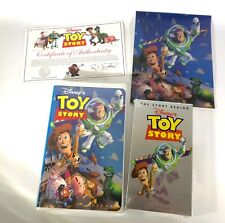 2 VHS Tape Set - Toy Story & The Story Behind Toy Story SEALED NEW + Extras!