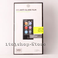 Belkin IRIS TrueClear Anti-Glare Clear Screen Protector for iPod Nano 7th Gen 7G