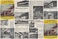 CALIFORNIA BOOK OF HOMES #11 RARE 1950S ATOMIC RANCH EICHLER HOUSE PLANS VINTAGE