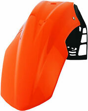 garde boue avant universel  enduro moto cross  POLISPORT UFX couleur orange KTM