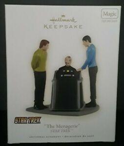 Star Trek Original The Menagerie 2009 Hallmark Keepsake Magic Christmas Ornament