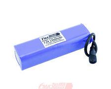 Panasonic 18650B 7.4V 13600mAh Protected Li-ion battery for Bike Light 2S4PEM US