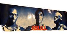 Michael Jordan Scotty Pippen Dennis Rodman Vintage 1996 Nike NO BULL Poster
