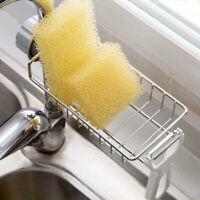 Sink Faucet Drain Rack Storage Organizer Holder Shelf For Home Kitchen Bathroom