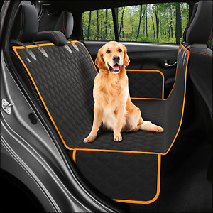 Dog Seat Cover Car Backseat Protector Waterproof Scratch Proof Non Slip Hammock