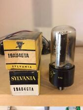Sylvania 19AU4GTA Electronic (Vacuum) Tube (NOS) Original Box (2 in package)
