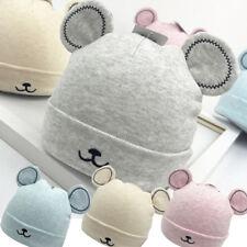 Toddler Boy Girls Warm Winter Woolen Beanie Hat Newborn Baby Ears Plush Cap Hot