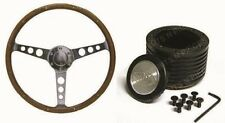HOLDEN FE , FC , FB , EK  SAAS 15 INCH WOOD GRAN STEERING WHEEL & BOSS Kit COMBO