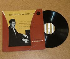 LP Record Beethoven Alexander Jenner Piano Waldsteinsonate Bertelsmann
